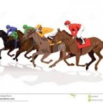 Horse race image