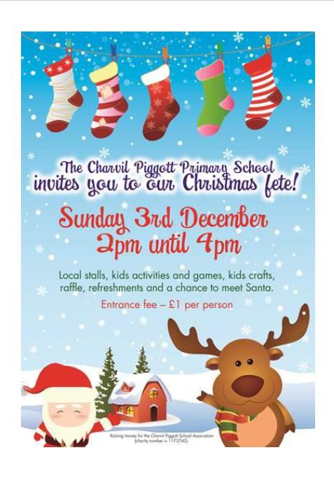 Christmas fete Charvil School